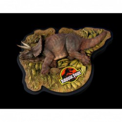 Jurassic Park diorama 1/35 Sick Triceratops 10 cm  -  Chronicle Collectibles